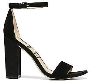 Sam Edelman Women's Yaro Ankle-Strap Suede Sandals