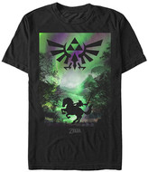 Fifth Sun Men's Tee Shirts BLACK - Legend of Zelda Black Farewell Tee - Men