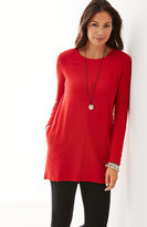 J. Jill Elliptical Seamed Tunic