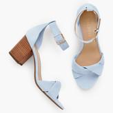 Talbots Beatrice Twist Strap Sandals
