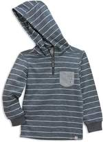Sovereign Code Boys' Slubbed Striped French Terry Hoodie