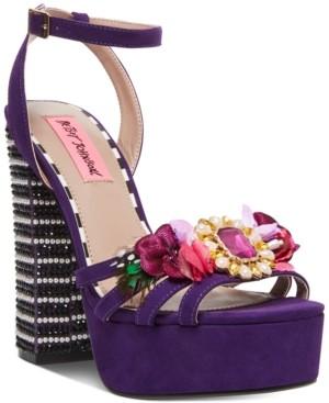 Betsey Johnson Marlo Platform Sandals Women's Shoes