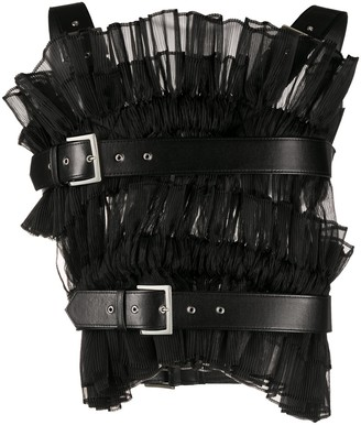 Comme des Garcons Micro-Pleated Harness Vest