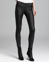 Burberry Westbourne Waxed Skinny Jeans