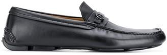 Giorgio Armani Monogrammed Loafers