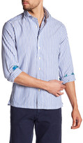 Gant Beach Slim Fit Stripe Oxford Sport Shirt
