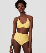 LOFT Beach Reversible Halter Bikini Top