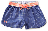 Under Armour Big Girls 7-16 Play Up Printed Shorts
