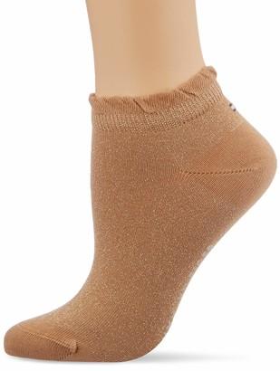Tommy Hilfiger Women's Th Sneaker 2p Lurex Ankle Socks