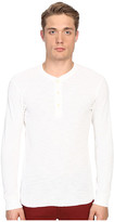 Billy Reid Long Sleeve Hunter Henley