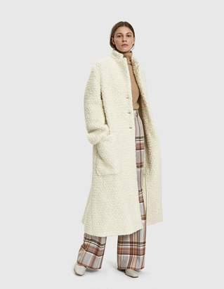 Jil Sander Boucle Coat