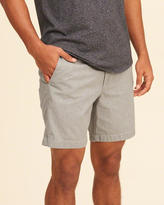 Hollister Beach Prep Fit Chambray Shorts