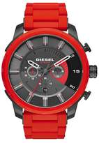Diesel R) 'Stronghold' Chronograph Silicone Strap Watch, 51mm
