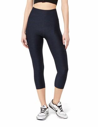 Aurique Amazon Brand Women's High Waisted Capri Sports Leggings