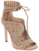 Via Spiga Elysia Suede Open-Toe Sandals