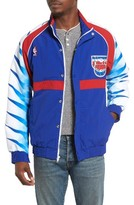 Mitchell & Ness Men's New Jersey Nets Tailored Fit Warm-Up Jacket