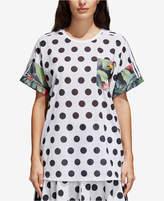 adidas Mixed-Print T-Shirt