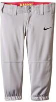 Nike Diamond Invader Softball/Baseball Pant (Little Kids/Big Kids) (Tm Blue Grey/Tm Black) Girl's Casual Pants