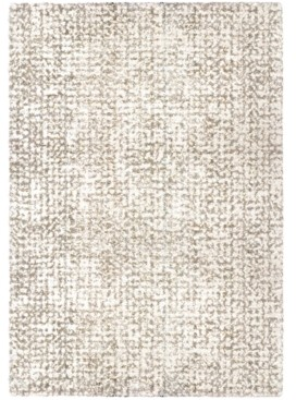 """Jennifer Adams Home Cotton Tail Ditto White 3'11"""" x 5'5"""" Area Rug"""
