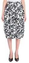 Jil Sander Floral-Print Cotton Skirt