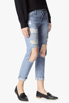 7 For All Mankind Josefina With Open Holes In Light Blue