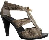 MICHAEL Michael Kors Python print Leather Heels