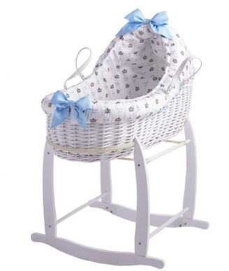 Rachel Riley My Little Prince Bassinet with Stand
