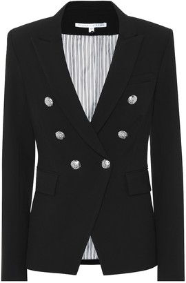 Veronica Beard Miller Dickey stretch-crepe blazer