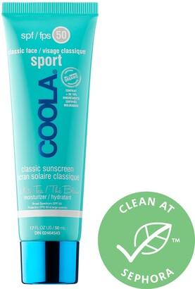 Coola Classic Face Sport SPF 50 White Tea