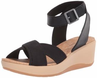Clarks womens Step Cali Coast Wedge Sandal