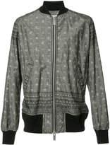 Sacai printed bomber jacket