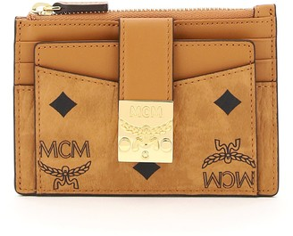 MCM patricia visetos card holder pouch