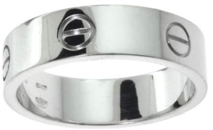 Cartier Love 950 Platinum Wedding Band Ring Size 10.25