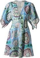 J.W.Anderson square sleeve short dress