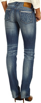 MEK Hollywood Straight Leg Jean in Medium Blue