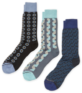 hook + ALBERT Mid-Calf Intarsia Socks (3 PK)