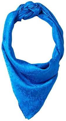 M&F Western Wild Rags Silk Jacquard Scarf Bandana (Black) Scarves