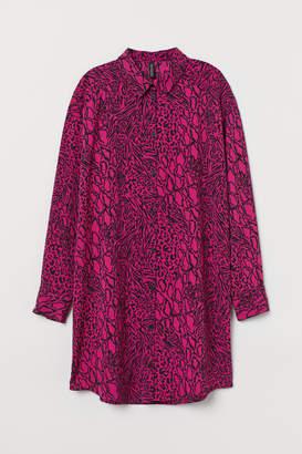 H&M Patterned shirt dress