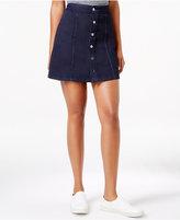 Calvin Klein Jeans Button-Front A-Line Skirt