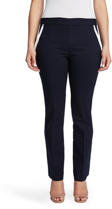 Chaus Pull-on Pants With Contrast Pockets