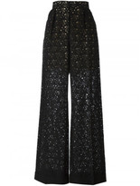 Stella McCartney flared lace trousers