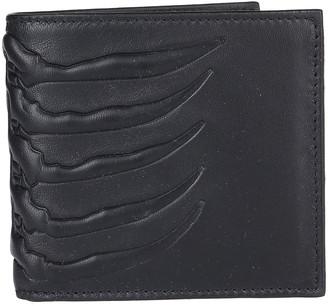 Alexander McQueen Ribcage Bifold Wallet