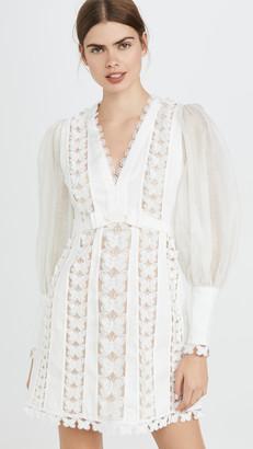 Zimmermann Super Eight Flutter Mini Dress