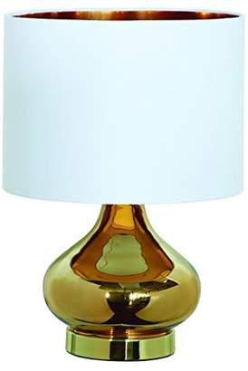 Village At Home Clarissa Table Lamp, Metal, Gold