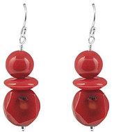 Barse Red Sea Bamboo Drop Earrings