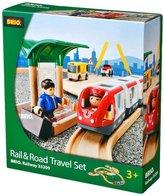 Brio Rail and Road Travel Set Train