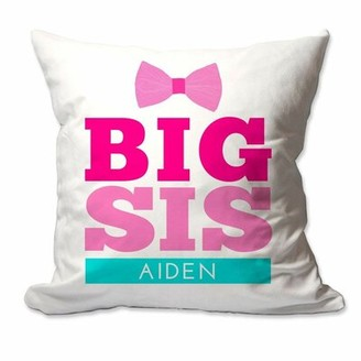 Zoomie Kids Richardson Big Sister Throw Pillow Cover Customize: Yes