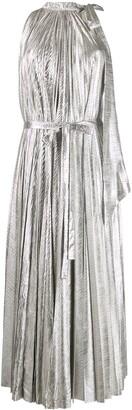 A.W.A.K.E. Mode pleated cocktail dress