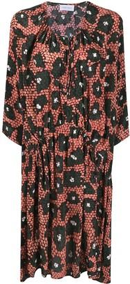 Christian Wijnants Dakai abstract-print dress