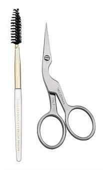Tweezerman Precision Point Brow Shaping Scissors And Brush